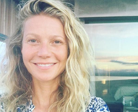 Gwyneth Paltrow with no makeup on