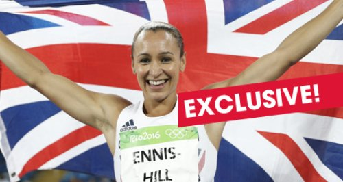 Jessica Ennis Exclusive
