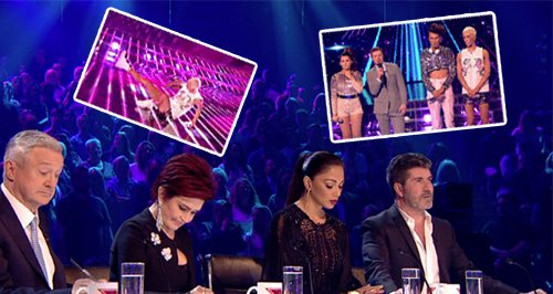 X Factor Live Shows Week 1