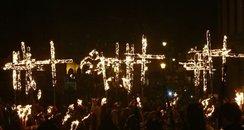 Bonfire at Lewes
