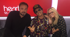 Bruno Mars With Jamie And Emma