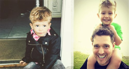 Michael Buble Son canvas