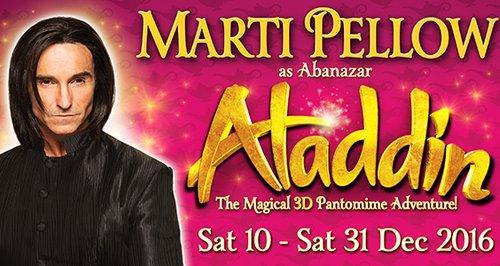 Aladdin Marti Pellow