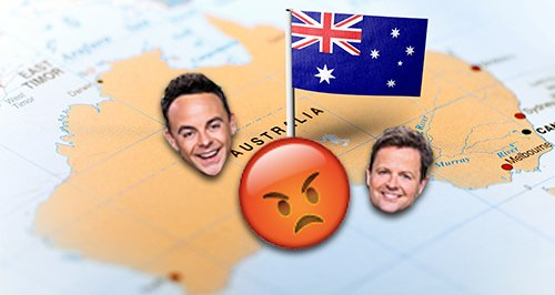 Ant And Dec Offend Australians With Im A Celeb Jok