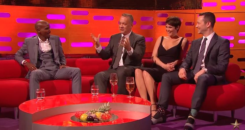 Graham Norton Show Tom Hanks