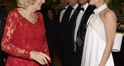 Lady Gaga and Camilla Duchess of Cornwall Royal Va