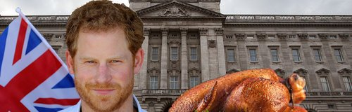 Prince Harry Buckingham Palace food