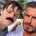 20. Cruz Beckham dons a moustache in silly selfie with David.