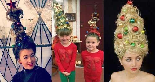 Christmas Tree Hair 2016
