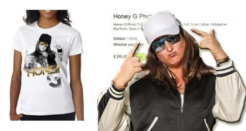 Honey G merchandise