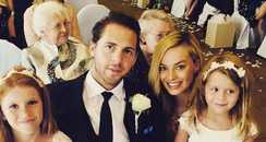 Margot Robbie and Tom Ackerley tie the knot in a s
