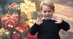 Naughty Prince George Caught Unwrapping His Christ