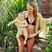 6. Candice Swanepoel shows off her bikini bod 14 weeks after giving birth