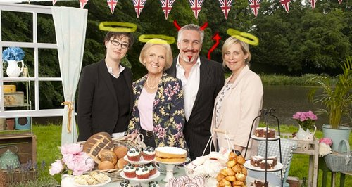 Great British Bake Off Paul Hollywood Channel 4 20