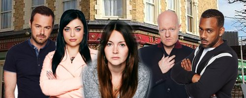 Eastenders line-up canvas