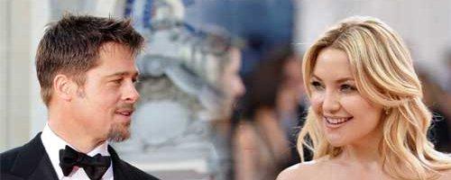 Brat Pitt and Kate Hudson canvas