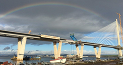 Last section of Queensferry crossing put into plac