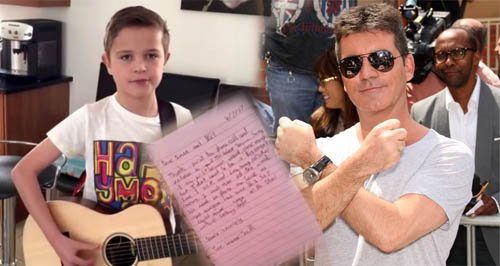 boy snubs Simon Cowell Britain's got Talent auditi