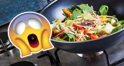 Stir Fry Salmonella Scare