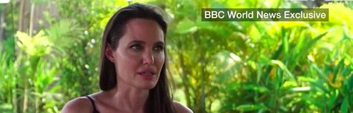 Angelina Jolie Divorce Interview