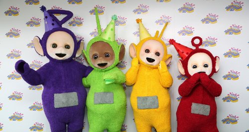Teletubbies 20 years old