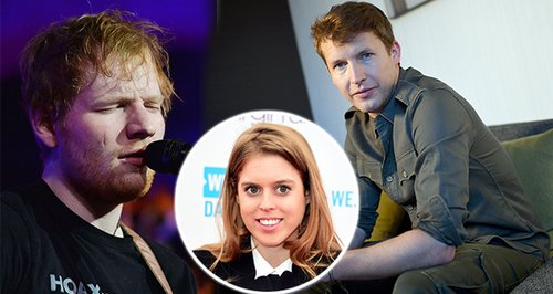 James Blunt Claims Ed Sheeran LIED About Princess