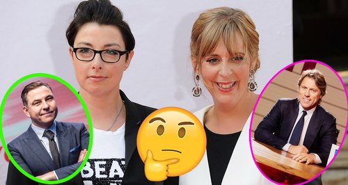 Mel and Sue The Nightly Show David Walliams ITV Jo