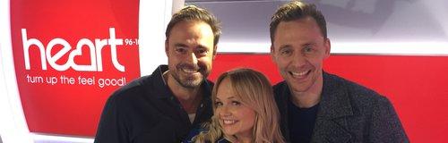 Tom Hiddleston With Jamie And Emma