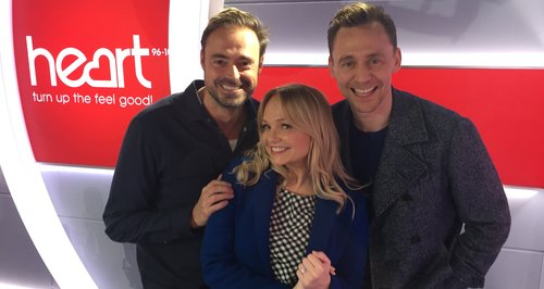 Tom Hiddleston With Jamie And Emma