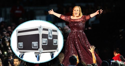 Adele In Box On Tour Canvas