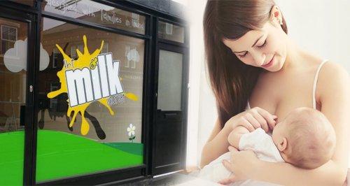 Breast feeding cafes uk