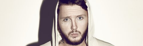 James Arthur wearing a hoodie