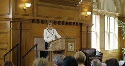 First Minister Nicola Sturgeon Stanford University