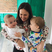 12. Giovanna Fletcher shares adorable family snap in kitchen