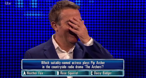 The Chase's Bradley Walsh Cringes After Mocking Co