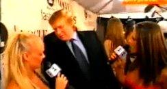 Donald Trump with Emma Bunton