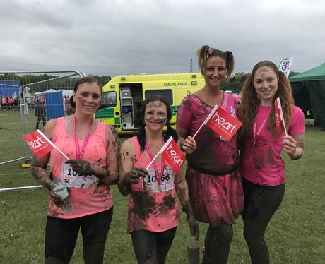 Race for Life Pretty Muddy Rother Valley 2017