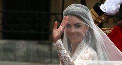 Kate Middleton nail polish wedding day