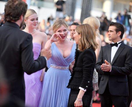 Kirsten Dunst Sheds Tears Of joy On The Red Carpet