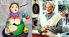 Mrs Doubtfire party canvas