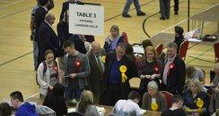 Basildon Election Count