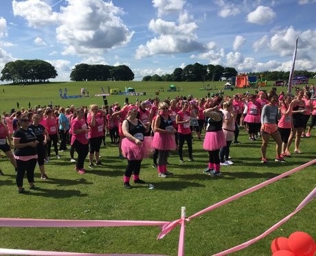 Race for Life Pretty Muddy Leeds