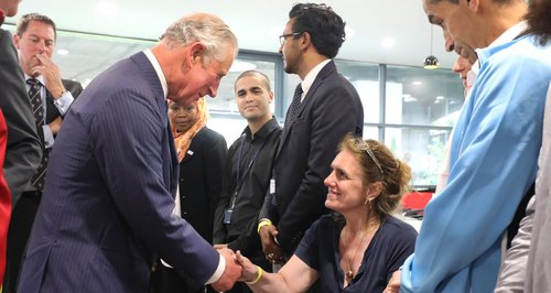 Prince Charles meet Grenfell Tower victims