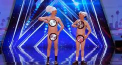 America's Got Talent Men With Pans