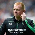 Hibs Manager Neil Lennon